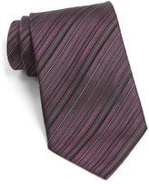 John Varvatos Men's Stripe Silk Tie