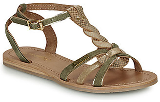 Les Tropéziennes HAMUC women's Sandals in Kaki