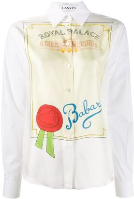 Lanvin Babar Royal Palace shirt