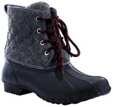 Western Chief Women's Quilted Four Eye Duck Matte Rain Boots