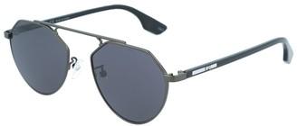 Alexander McQueen Unisex Mq0095s 50Mm Sunglasses
