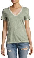 Rag & Bone Sublime Wash V-Neck Tee