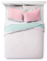 Pam Grace Creations Aqua Peacock Comforter Set Full/Queen Multicolor
