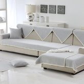 YHTYGUU thick skid cotton sof cushions/ winter linen sof towel/Simple solid color fbric modern sof cover