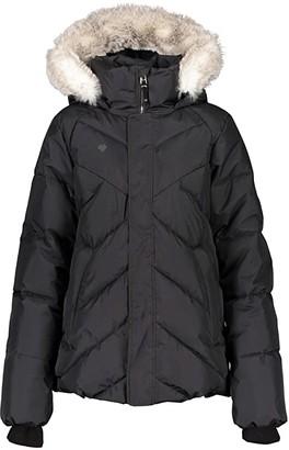 Obermeyer Meghan Jacket (Big Kids) (Black) Girl's Jacket