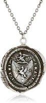 """Pyrrha Talisman Gryphon Crest Sterling Pendant Necklace, 18"""""""