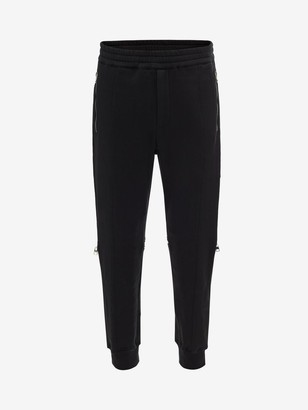 Alexander McQueen Zipper Detail Sweatpants