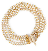Miriam Haskell Deck Your Neck Pearl Necklace