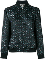 Hache floral bomber jacket - women - Cotton/Polyester/Spandex/Elastane/Viscose - 38