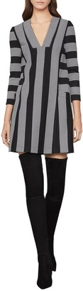 BCBGMAXAZRIA Striped Tunic Dress