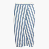 Madewell Striped Overlay Maxi Skirt