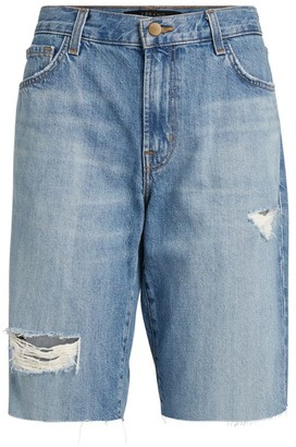 J Brand Relaxed Bermuda Denim Shorts