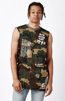 Civil No Control Destroyed Camo Muscle Tank Top