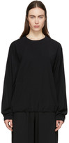 Wone Black Woven Pullover