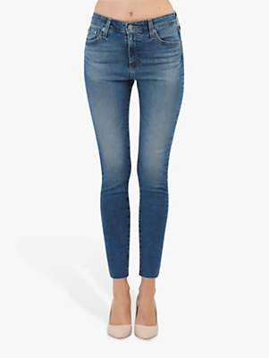 AG Jeans The Farrah High Rise Skinny Jeans, 13 Years Flowing