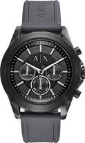 Armani Exchange AX2609 stainless steel and silicone chronograph watch
