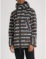 Sacai Printed Shell Jacket