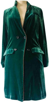 LOVE Stories Green Velvet Jacket for Women