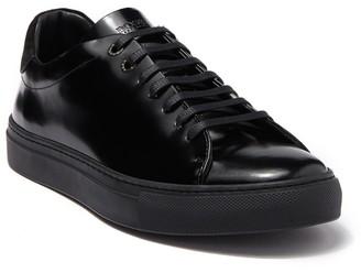 BOSS Tenn Low Cut Leather Sneaker