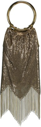 Whiting & Davis Antique Gold Rio Bracelet Bag