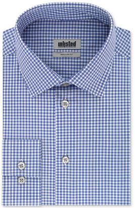 Kenneth Cole Unlisted Men Classic/Regular-Fit Check Dress Shirt