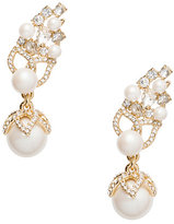 Kate Spade Pearl bouquet statement ear pins