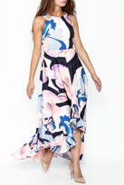 Nicole Miller High Low Maxi Dress