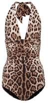 Dolce & Gabbana Leopard-printed swimsuit