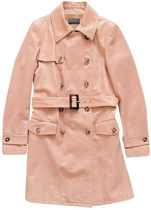 Fratelli Rossetti Pink Leather Coat for Women