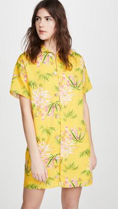 Kenzo Short Sleeve Tunic Dress