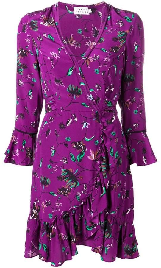 4d3595ba1f Silk Wrap Dress - ShopStyle UK