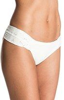 Roxy Women's Cozy and Soft Base Girl Bikini Bottom