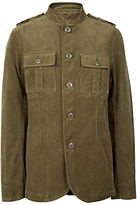 Pretty Green Lennon Canvas Jacket, Khaki