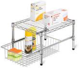 Honey-Can-Do Adjustable Cabinet Shelf Organizer