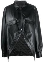 Balenciaga Swing Canadian shirt jacket
