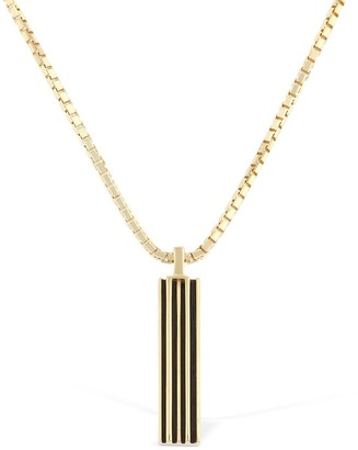 Marco Dal Maso ENAMELED LONG CHAIN NECKLACE