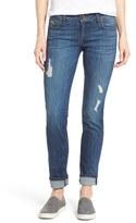 KUT from the Kloth Women's 'Catherine' Distressed Stretch Boyfriend Jeans