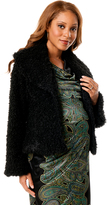 A Pea in the Pod Drew Shawl Collar Boucle Maternity Jacket