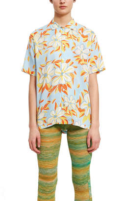 Endless Joy Acid Flower Aloha Shirt