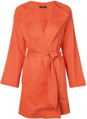 Natori belted trench coat