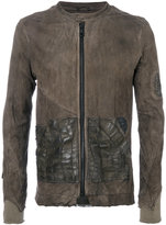 Giorgio Brato distressed zipped jacket
