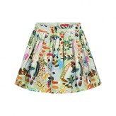 Oilily OililyGirls Green Paint Print Skirt