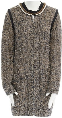 Lanvin Brown Wool Coat for Women