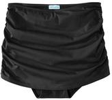 Sara Blakely ASSETS® by Women's Ruched Skirtini Swim Bottom -Black
