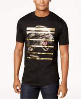 Sean John Men's Leopard Stripes T-Shirt