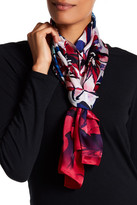 Vince Camuto Brushed Blooms Silk Scarf