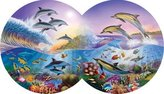 SERENDIPITY PUZZLE CO. INC. Catch a Wave, Double Circle, 800 pc