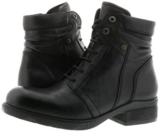 Wolky Center (Black) Women's Shoes