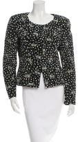 Giorgio Armani Embellished Collarless Jacket