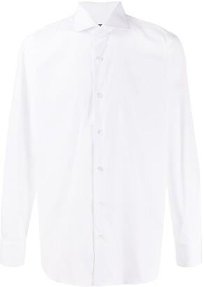 Barba Cutaway Collar Shirt